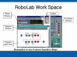 robolab work space