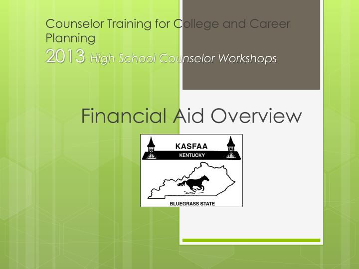 counselor training for college and career planning 2013 high school counselor workshops n.