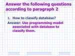 answer the following questions according to paragraph 21