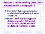 answer the following questions according to paragraph 22
