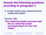 answer the following questions according to paragraph 23