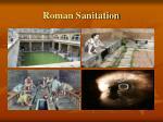 roman sanitation