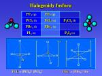halogenidy fosforu