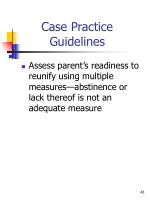 case practice guidelines5