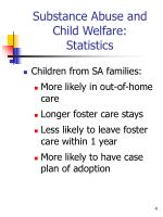 substance abuse and child welfare statistics2