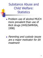 substance abuse and child welfare statistics3