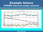example ankara etrs89 reference jumps removed