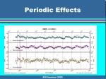 periodic effects