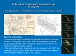 nonlinear resonance phenomena in fluxgate