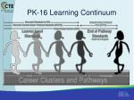 pk 16 learning continuum