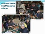 pennies for polio rc of vancouver arbutus