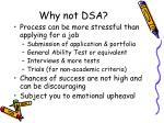 why not dsa