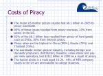 costs of piracy