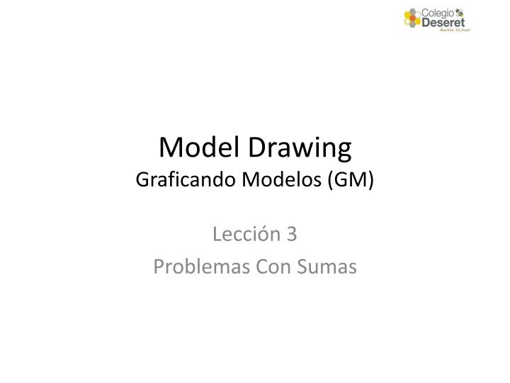 model drawing graficando modelos gm n.