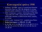 konvergen n zpr va 19981