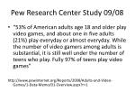 pew research center study 09 08