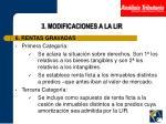 3 modificaciones a la lir10