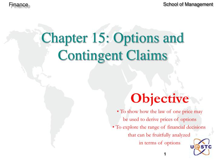 chapter 15 options and contingent claims n.
