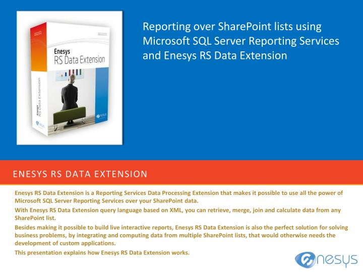 enesys rs data extension n.