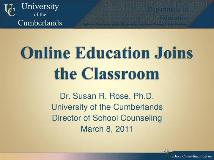 online education joins the classroom n.