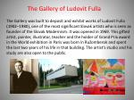 the gallery of ludovit fulla