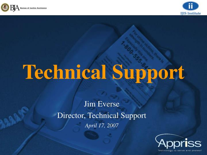 technical support n.