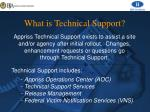 what is technical support