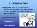 2 conjun es