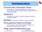 info4education