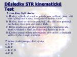 d sledky str kinematick test1