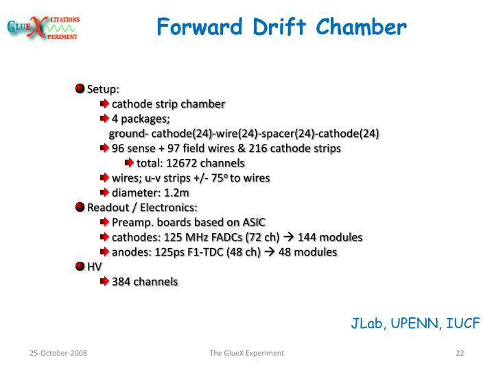Forward Drift Chamber