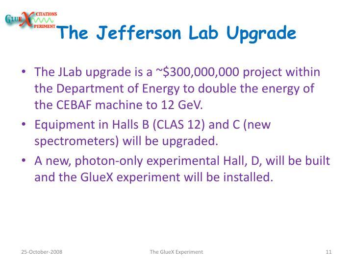 The Jefferson Lab Upgrade