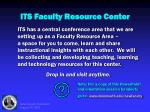its faculty resource center