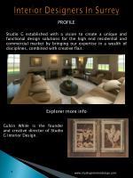 interior designers in surrey
