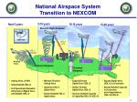 national airspace system transition to nexcom