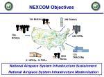 nexcom objectives