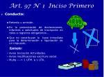 art 97 n 1 inciso primero