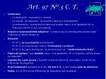 art 97 n 3 c t