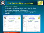 tss detector maps continued