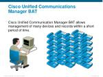cisco unified communications manager bat