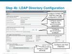 step 4b ldap directory configuration