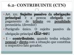 6 2 contribuinte ctn