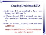 creating decisional dna1