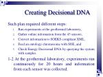 creating decisional dna2