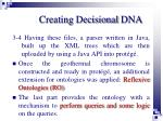 creating decisional dna3