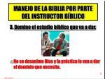 manejo de la biblia por parte del instructor b blico2