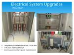 electrical system upgrades