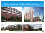 safe environment friendly work place