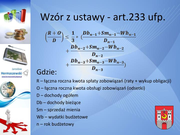 Wzór z ustawy - art.233