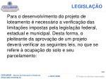 legisla o